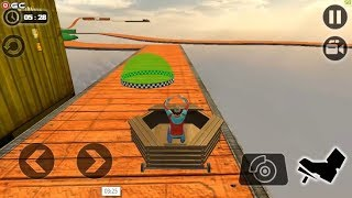 Impossible Wheel Race on Mega Ramp - Racing Wheels Stunt Game - Android Gameplay FHD #3