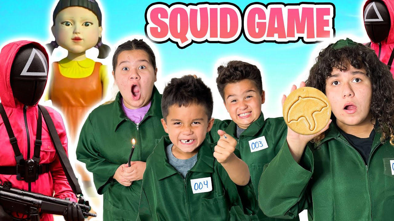 SQUID GAME IN REAL LIFE! $10,000 CASH PRIZE