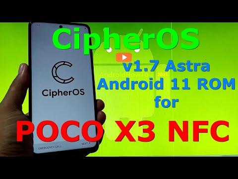 CipherOS v1.7 Astra for Poco X3 NFC (Surya)