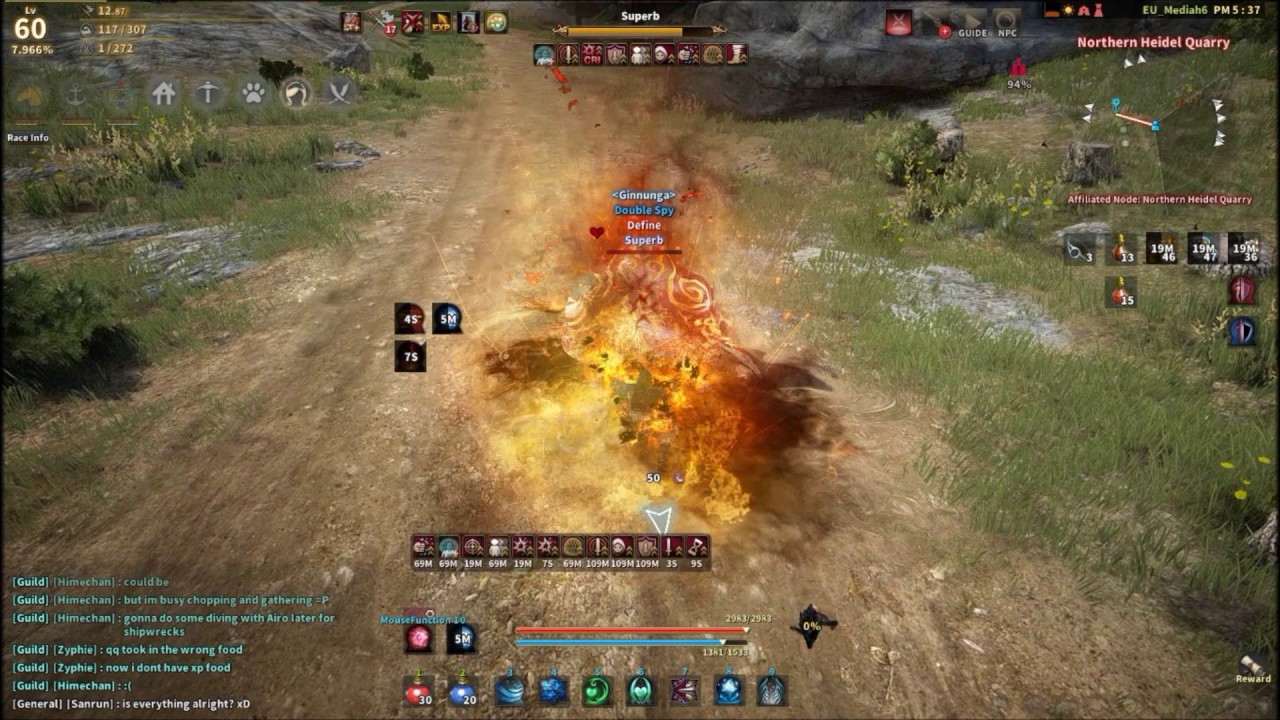 Wizard PVE and PVP combos - Wizard/Witch - The Black Desert