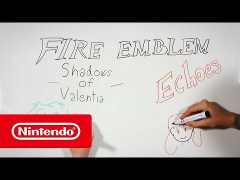 Fire Emblem Echoes: Shadows of Valentia – La historia de Valentia según Escola Joso (Nintendo 3DS)