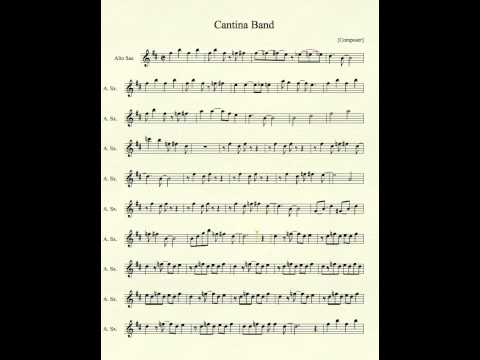 Cantina Band for Alto Sax