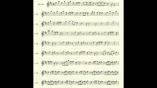 Cantina Band for Alto Sax