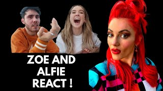 I did my makeup BAD to see if Zoe and Alfie noticed!