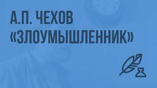 Рассказ А.П. Чехова «Злоумышленник». Видеоурок по литературе 7 класс