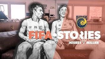 FIFA STORIES   CENTRAL COAST MARINERS   Josh Nisbet v Lewis Miller 🎮