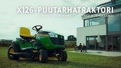 X126-puutarhatraktori