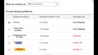 AliExpress Explained: Shipping, Payments,Sellers(In this video i decided to take the time out to explain to you guys how Aliexpress works. It's a safe site and your money is protected! BUT BEWARE OF THE ..., 2014-05-25T22:26:53.000Z)