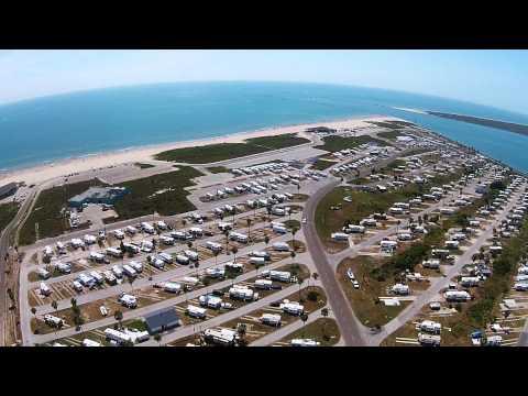 Isla Blanca Park Aerial View,  SPI V.2