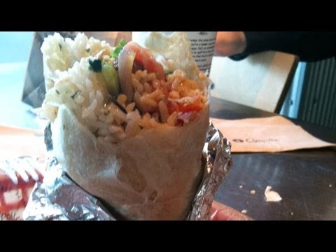 Genetically modified ingredients in Chipotle food