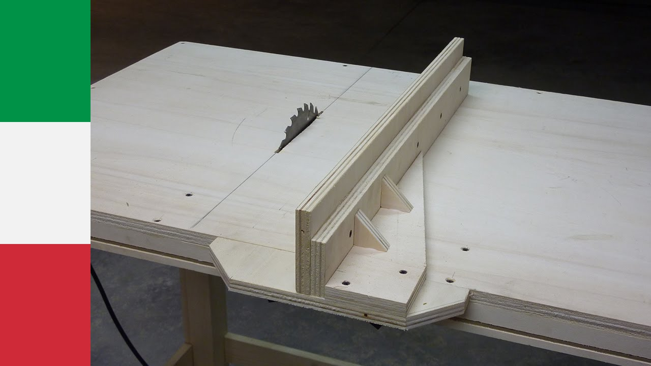 Homemade Table Saw Plans : Making a Homemade Table Saw (part 2) - YouTube