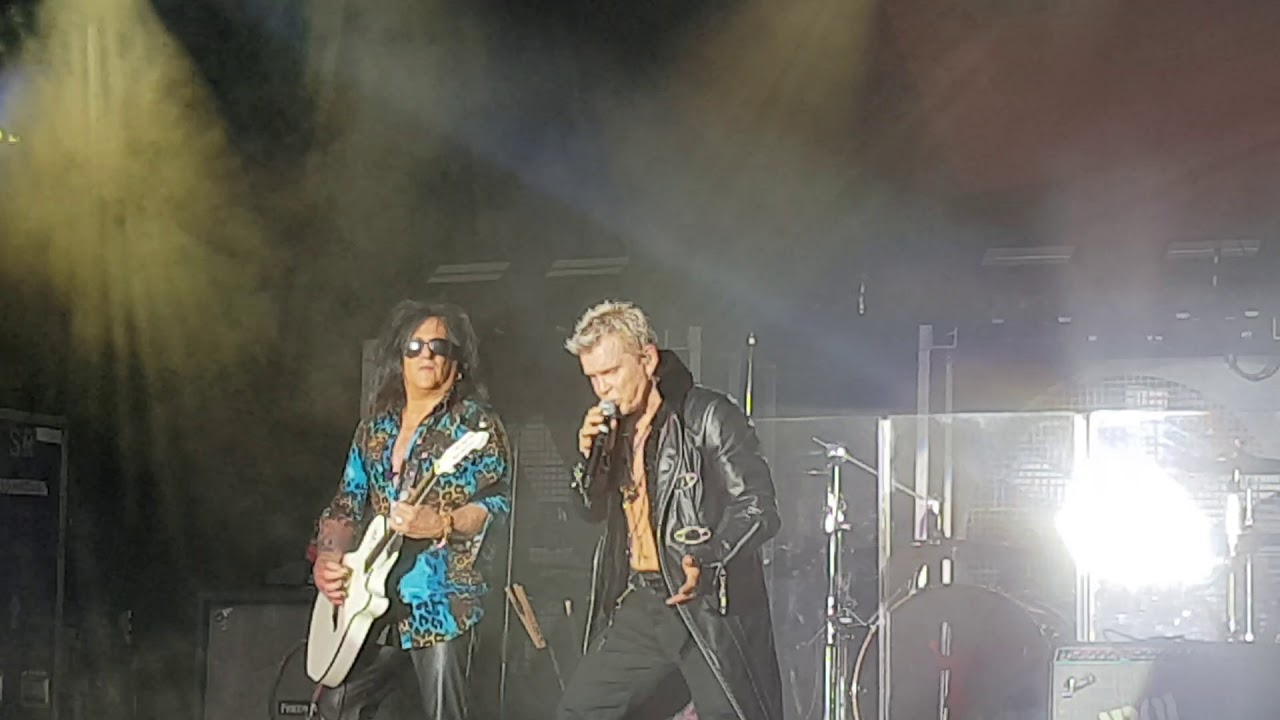 Billy Idol White Wedding Live At Furuvik Sweden 2018 Youtube