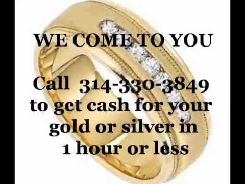 Where to Sell Gold in St Louis - Get Cash for your gold in 1 hour or less