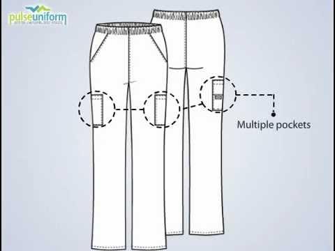 dcc62b41e57 Dickies Uniforms - 850506 Everyday Elastic Waist Scrub Pants for Women