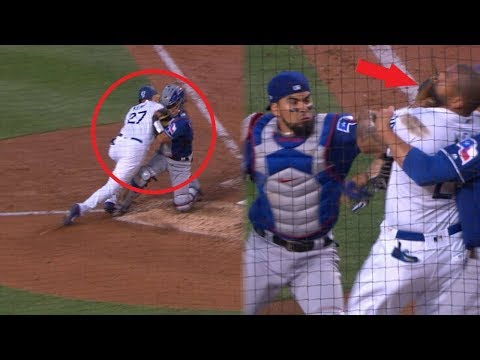 MLB Insane Home Plate COLLISIONS ᴴᴰ