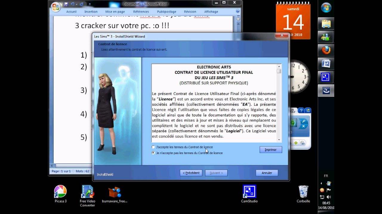 ou package d'installation sims 3