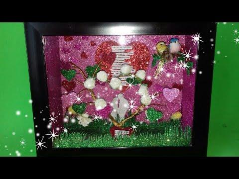 DiY| Shadow Box/ Love Shadow Box/ Valentines Day Gift Idea/ Room Decor Idea