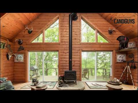 Outdoorsman's Dream Property For Sale In Knox County, IL (Cabin With A View, Hunting, Fishing)