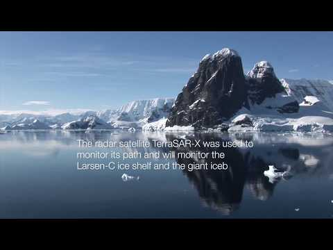 Maritime Monitoring with TerraSAR-X: Giant Iceberg broke off Larsen-C Ice Shelf