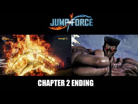 Jump Force - Chapter 2 Ending (TOGURO CLONES)