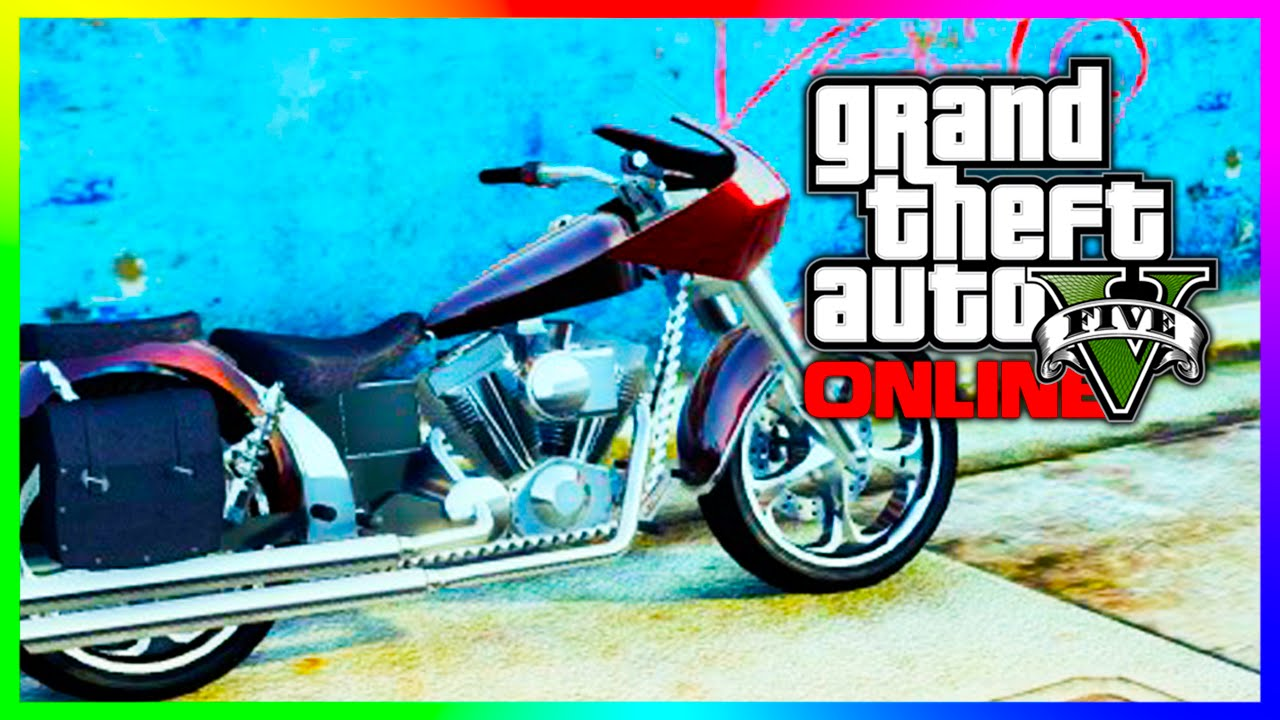 "GTA 5 Online Rare ""Western Bagger"" Franklin's Bike Spawn ..."