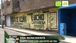NOTA DETENIDO CON DROGA BUENOS AIRES 19 SETIEMBRE + OZ