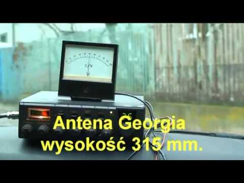 CB Radio - Test zasięgu anten w czasie jazdy samochodem