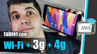 Um Tablet que pega Chips e Internet 3G 4G