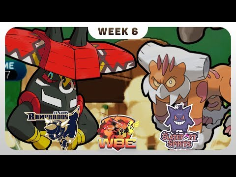 FLIP A COIN! | St. Louis Rampardos VS Slateport Spirits WBE W6  | Pokemon Sun Moon