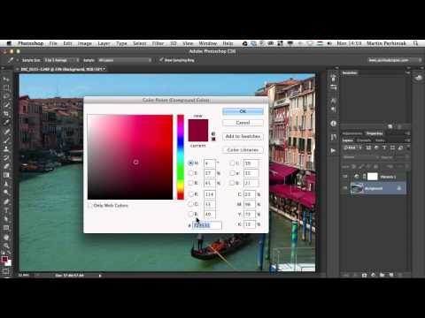 Comprehensive Guide To Color In Photoshop -- Swatches