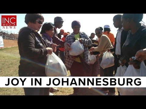 Joy In Johannesburg