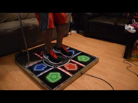 DDR Champion Dance Pad Test 1 (Stability)