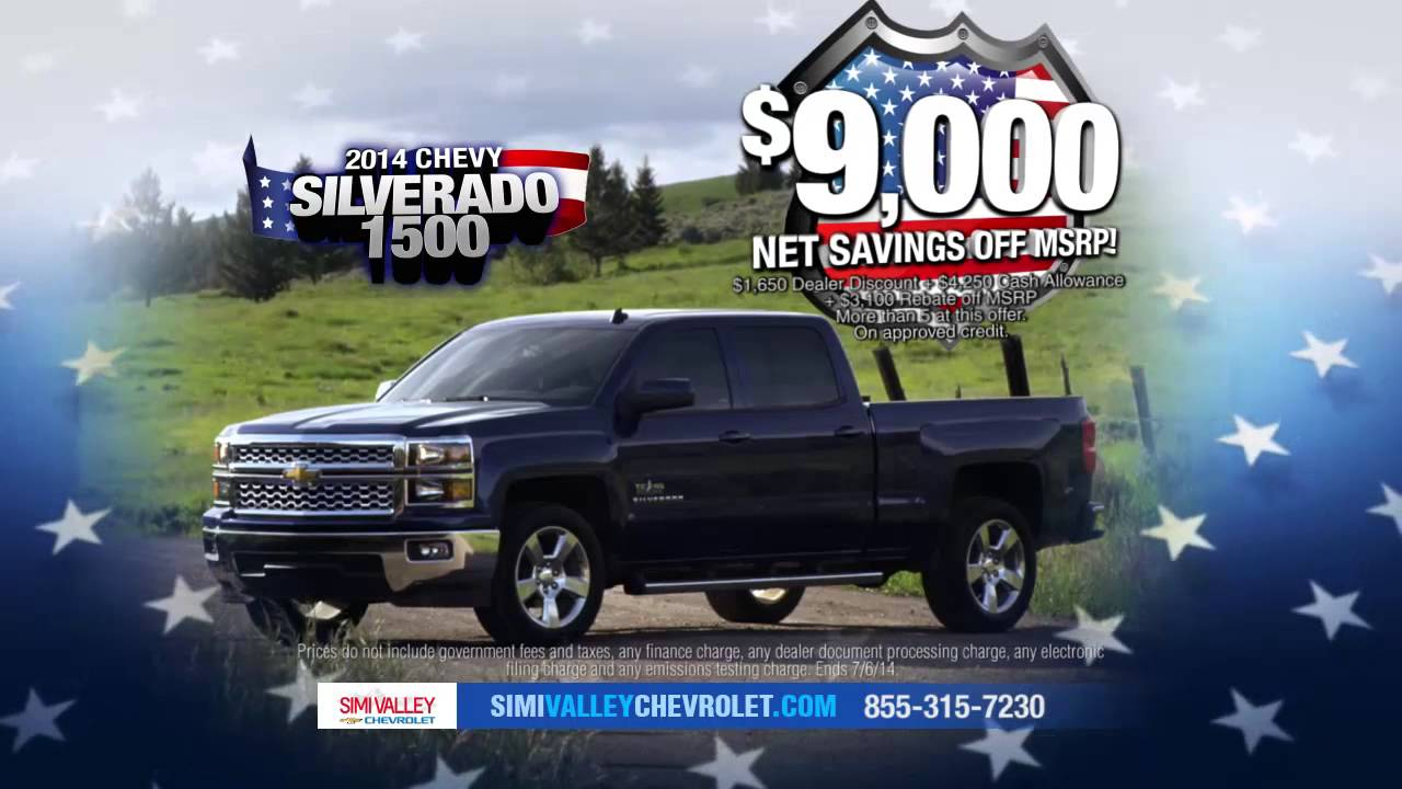 Simi Valley Chevrolet >> Drive American Sell A Thon At Simi Valley Chevrolet