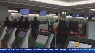 Impending Snow Storm Has Travelers Scrambling