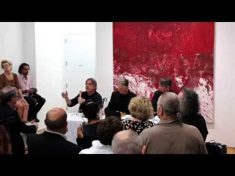 Hermann Nitsch Critic Panel at MARC STRAUS - September 8, 20