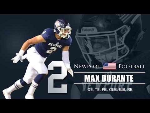 Max Durante Highlight Video - Newport Harbor High School