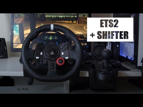 6 Speed H-Shifter Arrived For G29!   ETS2 Gameplay
