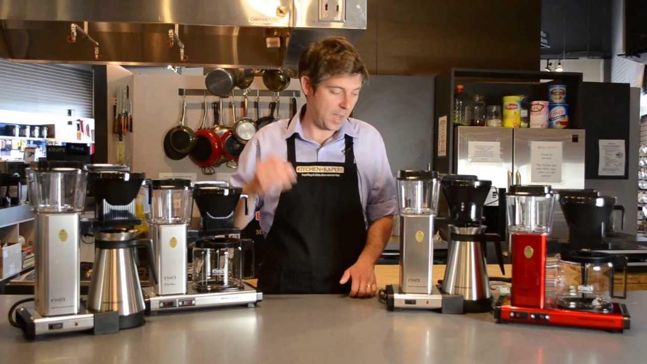 Technivorm Moccamaster Coffee Maker Comparison  YouTube