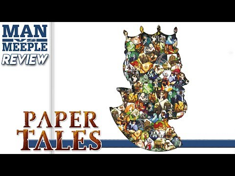 Paper Tales (Catch Up Games) Review by Man Vs Meeple