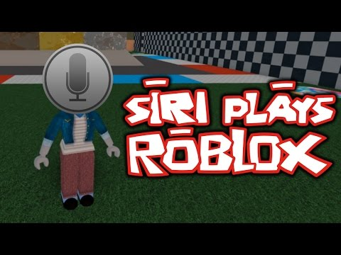 SIRI PLAYS ROBLOX