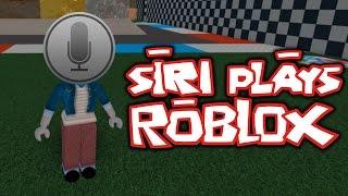 SIRI PLAYS ROBLOX