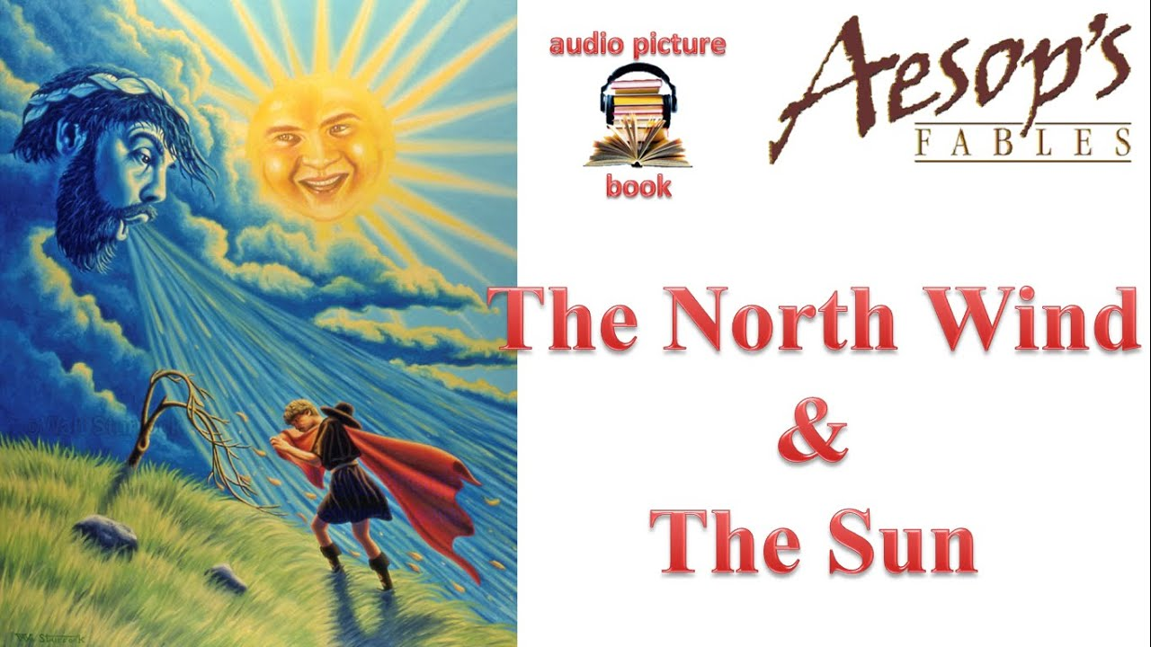 Aesop S Fable 22 The North Wind And The Sun Subtitled