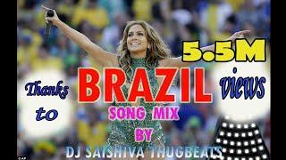 #BRAZIL_DJ BRAZIL | SONG BY DJ SAISHIVA THUGBTS@...