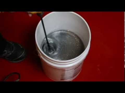 How to Mix in Glitter for Glitter Epoxy Flooring