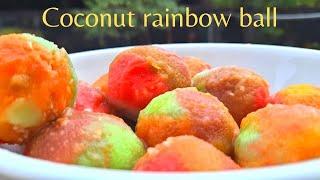 kozhukkattaicolourful coconut rainbow ballshomemade coconut kozhukkattai balls