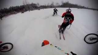 Skijorings, Ledmane 2015, MMK, Roberts Lapa/Reinis Avens