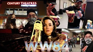 Wonder Woman 1984 ‐ NON Spoiler Review - Cinemark Private Watch Party VLOG