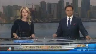 KFMB CBS News 8 11AM Open (12/21/17)