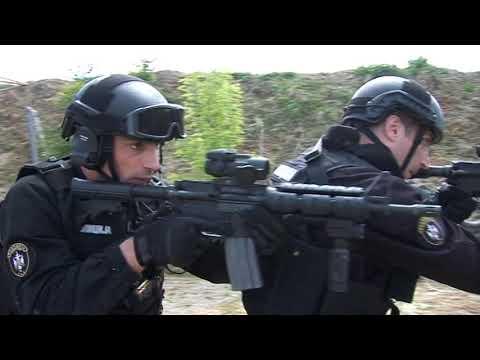 Serbian Police Antiterorist Unit SAJ - Krav Maga training