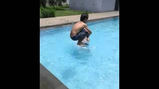 Video Jane Watkin and Brothers enjoy swimming at near home download MP3, 3GP, MP4, WEBM, AVI, FLV Agustus 2018
